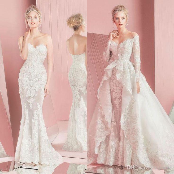 Mermaid Wedding Dress With Detachable Train : Best ideas about detachable wedding dress on