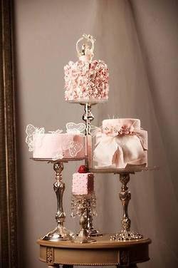 Ombre Wedding Dress & Cake                                                                                                                                                                                 More