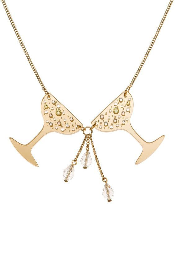Champagne Cheers Necklace £65 (sale £32.50) - Christmas 2013