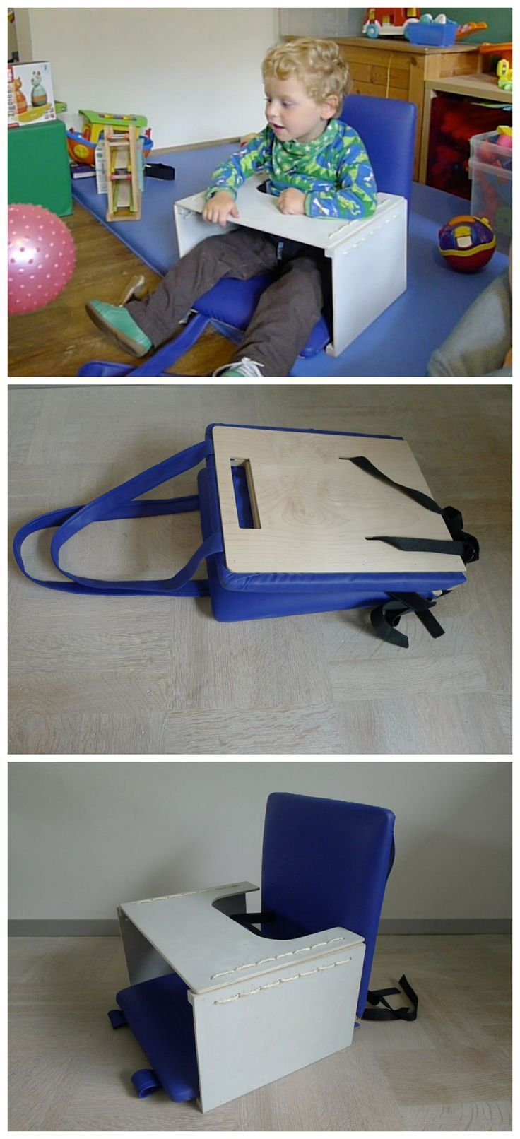 FleXiseat - Assisted Seat for Toddlers #assistive_tech #woodworking #children #cerebral_palsy