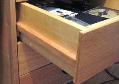 New way of doing drawer slides... without drawer slides.