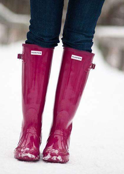 Think These Are The Raspberry Colour // Love Them In This Glossy Effect Too // Hunters