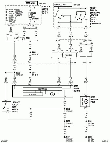 2004 Jeep Grand Cherokee Wiring Diagram In 2020