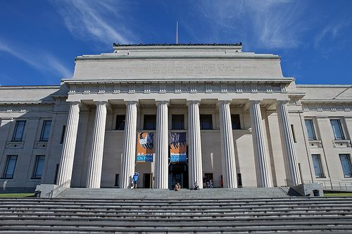 Front of Auckland Museum