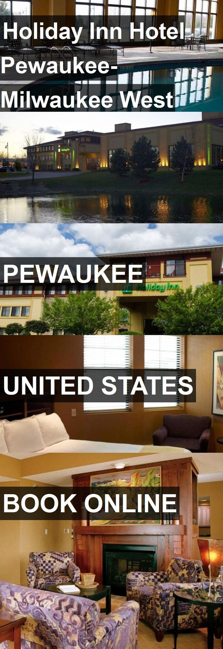 Holiday Inn Hotel Pewaukee-Milwaukee West in Pewaukee, United States. For more information, photos, reviews and best prices please follow the link. #UnitedStates #Pewaukee #travel #vacation #hotel