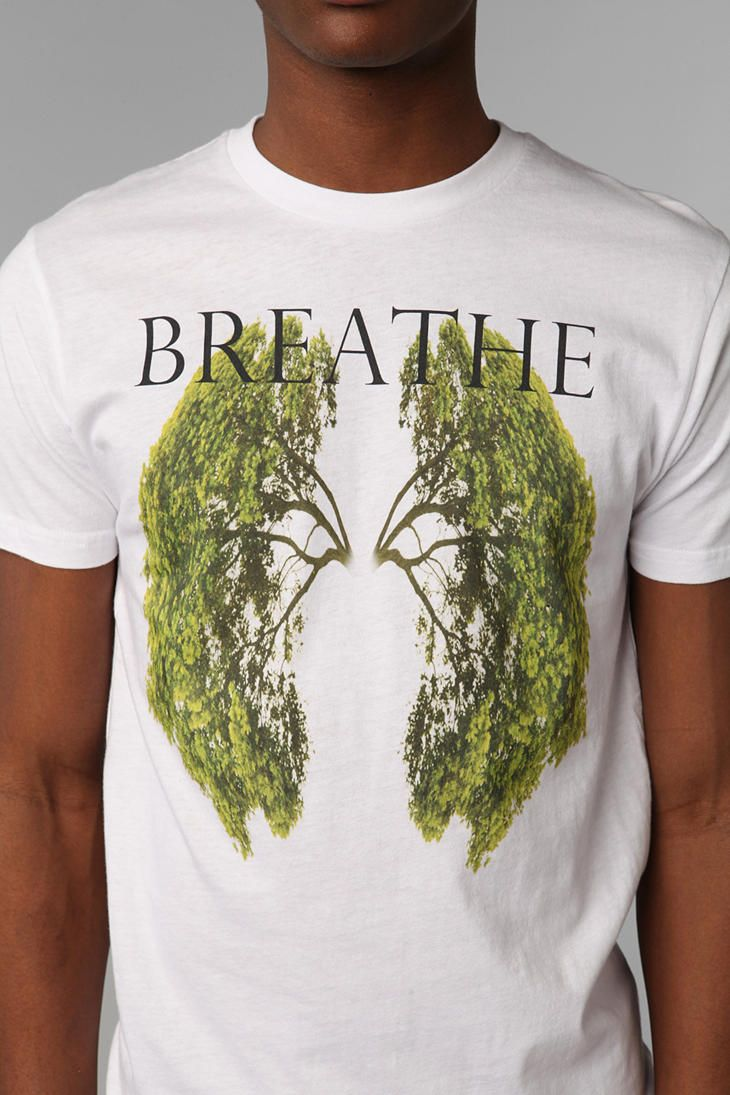 Black t shirt urban outfitters - Breathe Tee Urban Outfitters