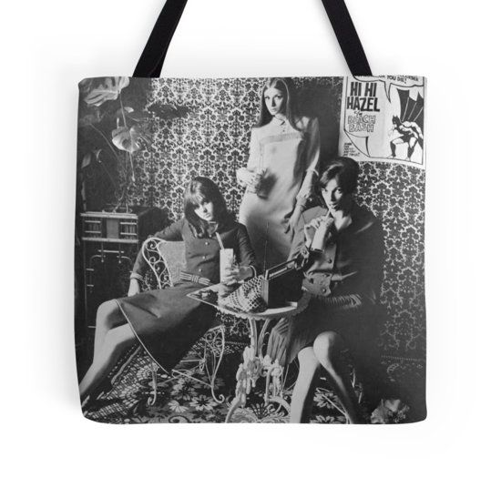 Milkshake Girls Tote bag #redbubble #retro