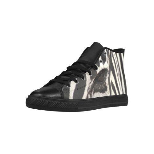 Zebra Aquila High Top Action Leather Women's Shoes. FREE Shipping. FREE Returns. #sneakers #zebra