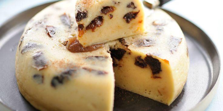 Flan breton à la crème de marron au micro ondes par Tupperware