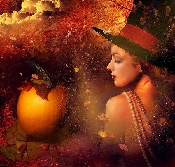 Gyönyörű egész héten ... és boldog Halloween !!