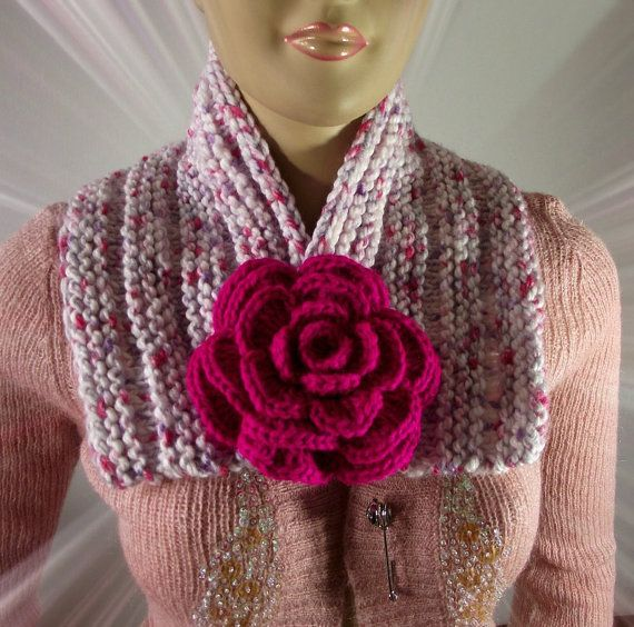 KNITTING COWL PATTERN Scarf  Lily Cowl Pattern by LiliaCraftParty