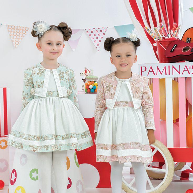 Bahar gibi tasarımlar için bizi takip et! Follow us for spring like designs! ربيعية لتصاميم متابعتنا في كن Для дизайнов словно весна подписывайтесь на! www.paminakids.com  #fashionbrand #kidswearing #kidsstyle #çocuk #elbise #dress