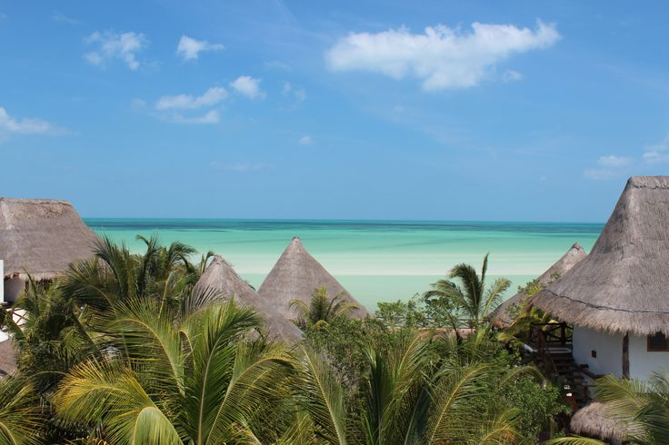 Our hotel on the island of Holbox--Las Nubes De Holbox.  Great place to stay
