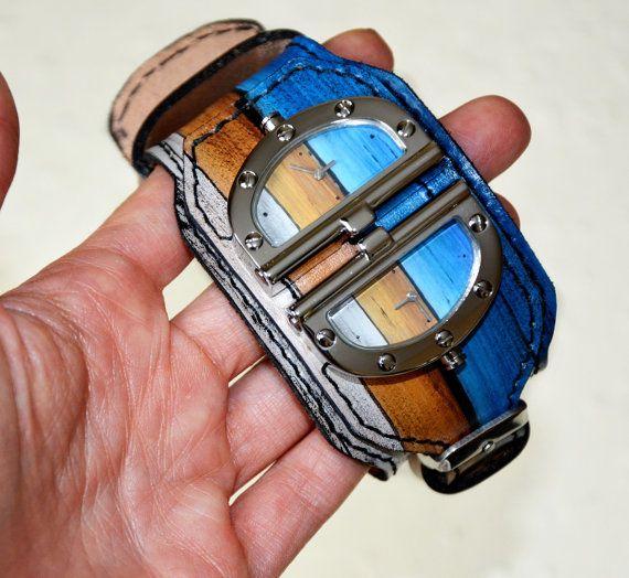 Steampunk watch - Wrist watch - Mens watch - Steampunk wrist watch - Women wrist watch - Steampunk men - Wooden watch For men - Armbanduhr