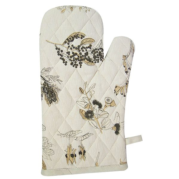 Organic Cotton Botanical Australia Oven Mitt  $13.95 Screen printed with the iconic floral emblems of the Flannel Flower, Waratah, Wattle, Grevillea, Australian Bluebell, Kangaroo Paw, Banksia, Flowering Gum and Sturt Desert Pea in eco-friendly inks. http://www.greengiftsaustralia.com.au/shop/index.php?main_page=product_info&cPath=2_59&products_id=264