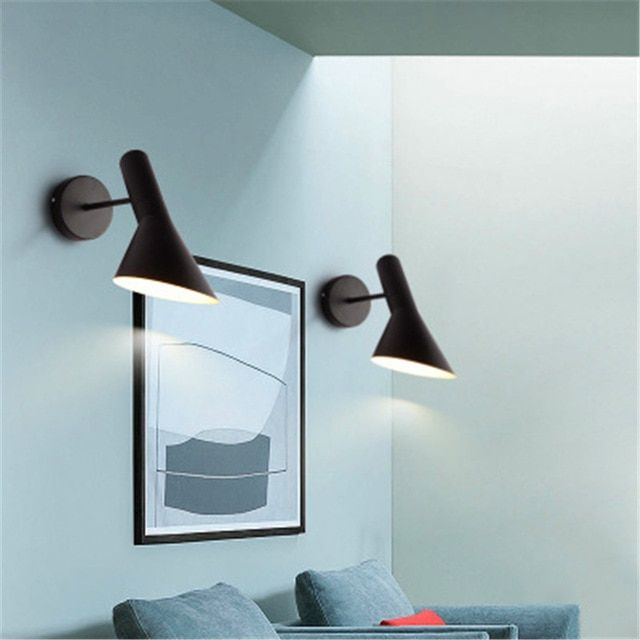 Modern Lamp Led Wall Design Arne Jacobsen Sconce