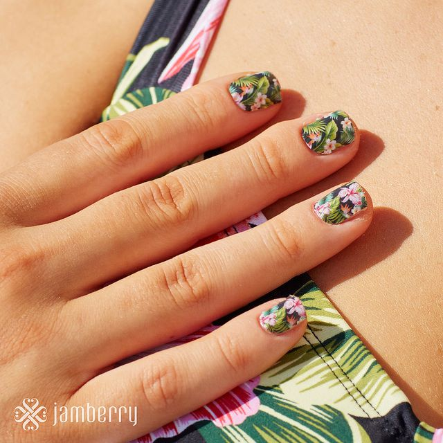 Jamberry nail wraps offer the hottest trend in fashion. Wrap your nails in  over 300 different designs.