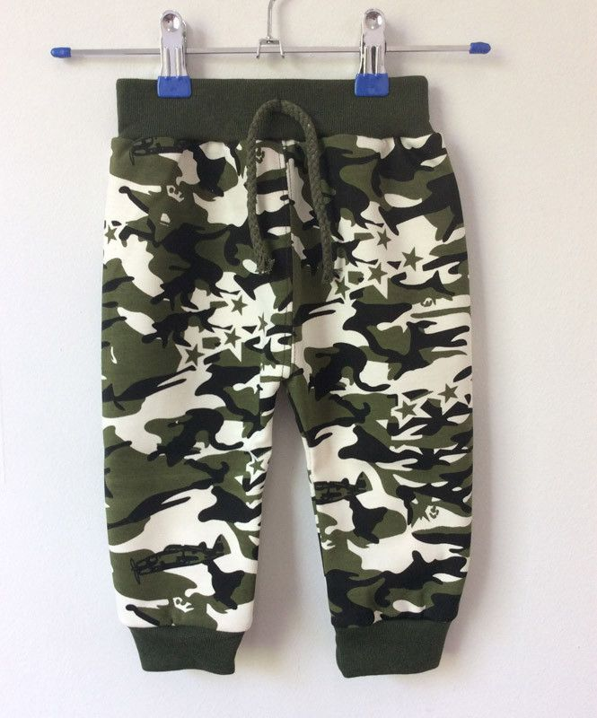 Children's Clothing 2017 Kids Boy Gilrs Camouflage Long Pants Children's Sport Camo Cargo Trousers baby boy pants 1-3 yars