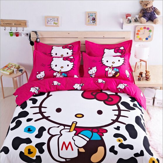 Like and Share if you want this  Hello Kitty Cartoon Bed Set Bedding Sets For Kids     Tag a friend who would love this!     FREE Shipping Worldwide     Buy one here---> https://www.cancoot.com/hello-kitty-cartoon-bed-set-bedding-sets-bed-linen-for-kids-twin-queen-size-bedclothes-duvet-cover-sheet-bedding-set/