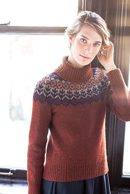 Ravelry: Grettir pattern by Jared Flood turtleneck optional