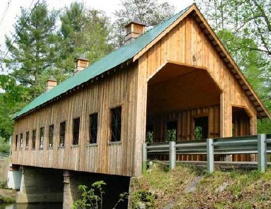 Great Smoky Mountains  Emert's Cove Covered Bridge