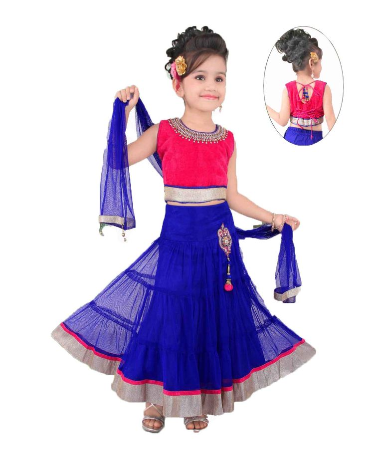 Dark pink and blue lehenga size : 16, 18, 20 , 22,24 Price: Rs 1450 & Rs 1500 Free shipping   http://www.princenprincess.in/index.php/home/product/400/Maroon%20and%20blue%20lehenga