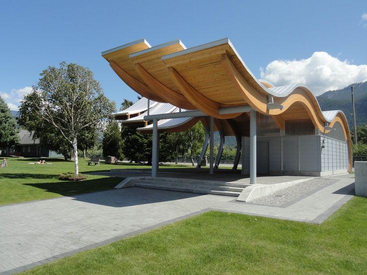 O'Siyam Pavilion, Squamish, BC Formline Architecture