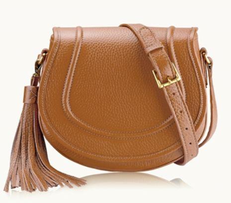 Gigi New York Jenni Saddle Bag in Sable