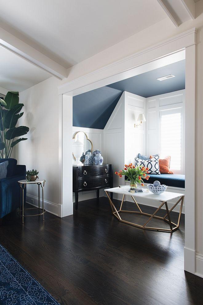 New Subdivision Home Design Ideas Dark Hardwood Floors Living