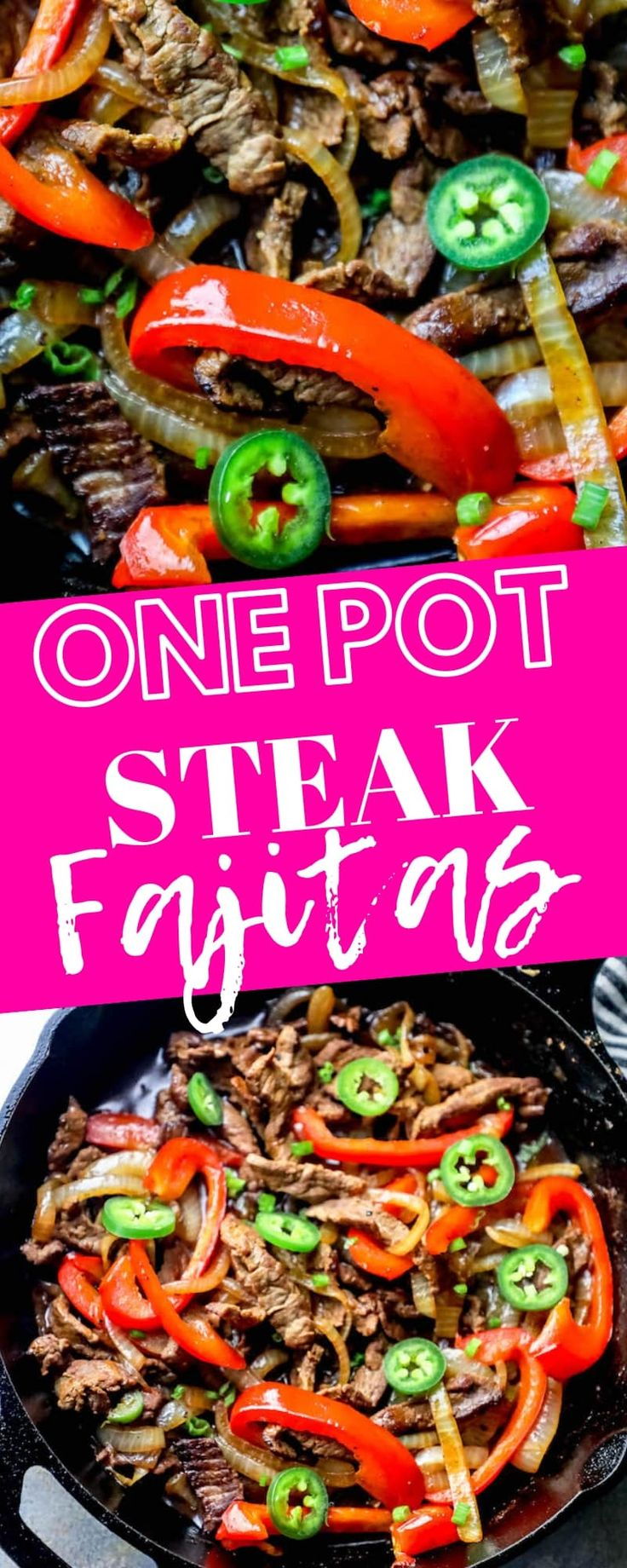 Das beste Eintopf-Steak-Fajitas-Rezept aller Zeiten ⋆ Sweet Cs Designs