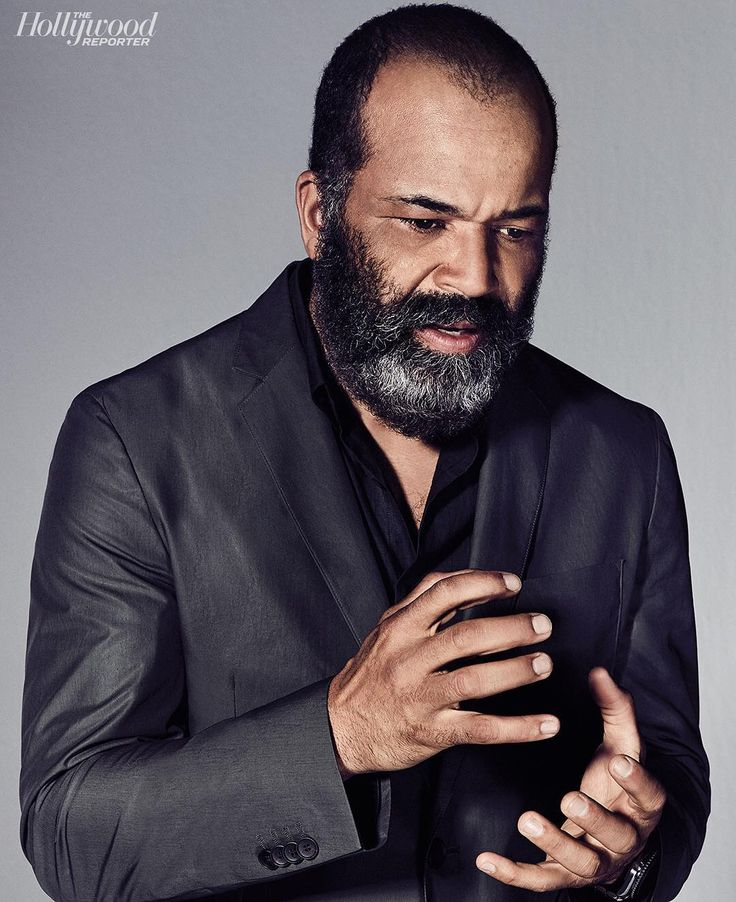 """Jeffrey Wright (Bernard) on #Westworld plot twists: """"There'd be a flurry of texts among the cast when secrets were revealed—I knew more than most."""" More from THR's Drama Actor Roundtable, featuring Riz Ahmed, Ewan McGregor and 3 other TV stars on the site. 📸: @JoePug"""