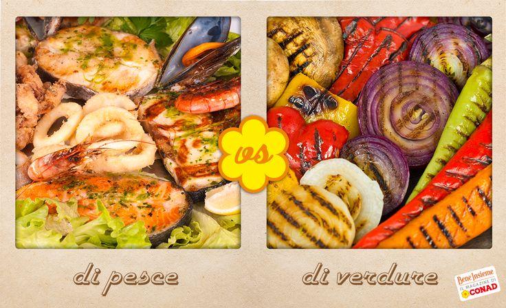 Con il mese di #giugno si apre ufficialmente la stagione delle #grigliate: preferisci quella di #pesce o quella di #verdure? O magari entrambe...