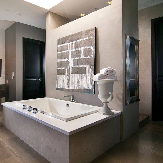 The Definition Of Elegance Monarch Designs And Studios Bathroom Featuring Blizzard Around Perimeter