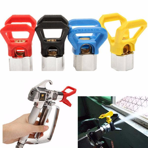 4pcs Airless Paint Spray Gun Tip Guard For Graco Titan Wagner Sprayer Tool