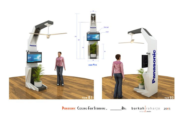 Panasonic Ceiling Fan Display