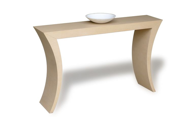 Iris Side console for interior - contract use Veneered mdf, available in many finishes and colors.