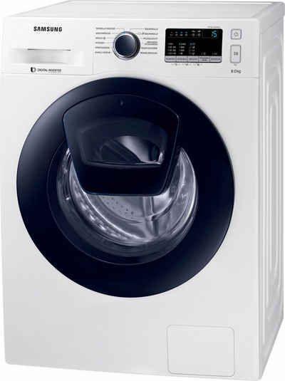 Samsung Waschmaschine WW8EK44205W/EG AddWash, A+++, 8 kg, 1400 U/Min