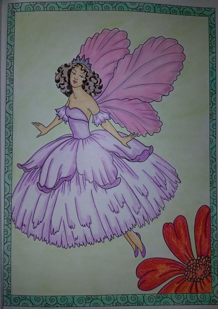 Creative Haven Enchanted Fairies