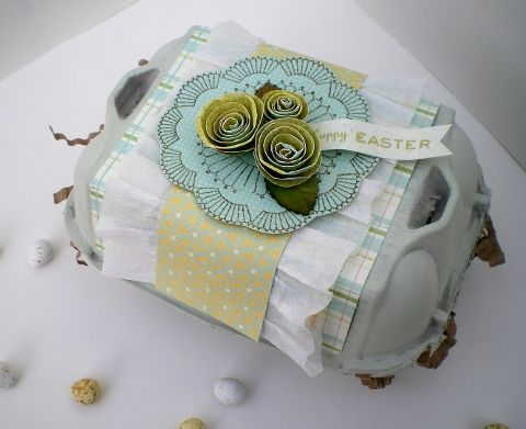 32 best altered eggs and egg cartons images on pinterest egg blush crafts easter egg box negle Gallery