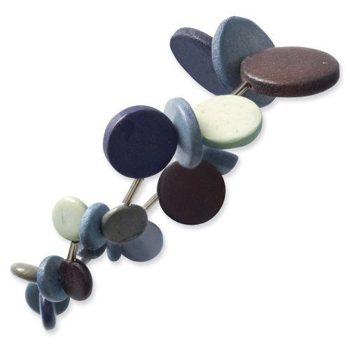 Botanical Harvest Multicolored Wood & Acrylic Bead Stretch Bracelet Botanical Harvest Collection. $16.00. Save 20%!
