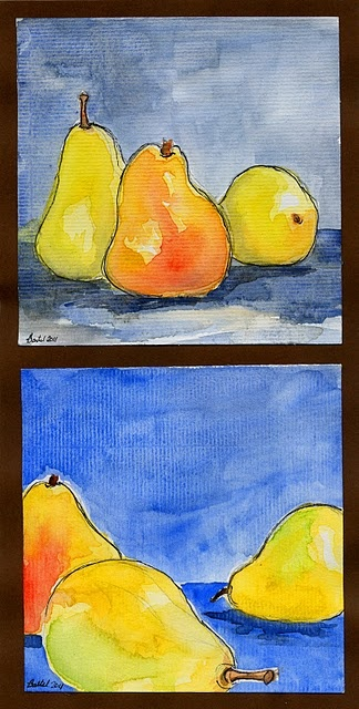Beautiful still life! Love this lesson on open and closed composition.