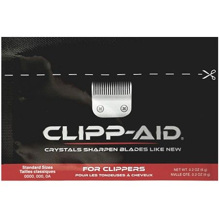 Clipp-Aid Crystals Sharpen Blades Like New For Clippers 9 Packs - Standard Size $19.95 FREE SHIPPING Visit www.BarberSalon.com One stop shopping for Professional Barber Supplies, Salon Supplies, Hair & Wigs, Professional Product. GUARANTEE LOW PRICES!!! #barbersupply #barbersupplies #salonsupply #salonsupplies #beautysupply #beautysupplies #barber #salon #hair #wig #deals #sales #clipperaid #freeshipping