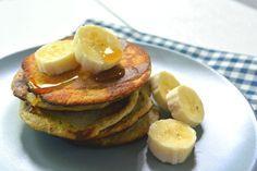 Bananen pannenkoeken met havermout