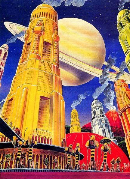 Soviet science-fiction illustration, 1933