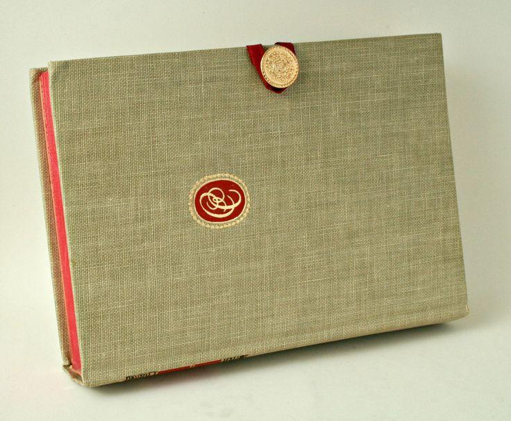 Progettazione del libro frizione. Vintage libro cinque grandi dialoghi di Platone fatta in una borsa unica. Da SecretPocketBook su Etsy. di SecretPocketBook su Etsy https://www.etsy.com/it/listing/209463755/progettazione-del-libro-frizione-vintage