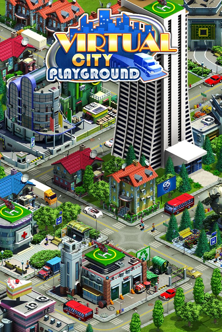 Build the city of your dreams… and then run it! Play on iPad: http://itunes.apple.com/app/id447763975?mt=8 Play on iPhone: http://itunes.apple.com/app/id447763775?mt=8 Play on Google Play: https://market.android.com/details?id=com.g5e.virtualcitysb Play on Kindle: http://www.amazon.com/G5-Entertainment-Inc-Virtual-Playground/dp/B00785P2QC Play on Mac: http://itunes.apple.com/app/id479527329?mt=12