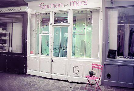 ma boutique, 21 passage molière, Paris 3ème.