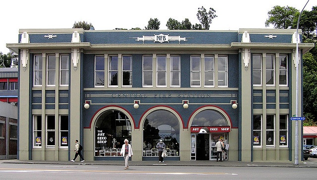 New Zealand - Napier - 2006 by Chris, via Flickr-USED TO BE THE FIRESTATION MANY MANY YEARS AGO