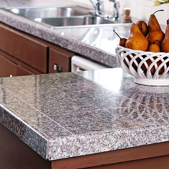 Heat Shields For Kitchen Cabinets: Best 25+ Granite Tile Countertops Ideas On Pinterest