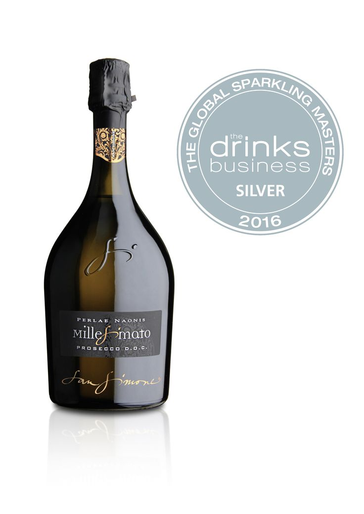 """Our #Prosecco DOC #Brut #Millesimato """"Perlae Naonis"""" has won a #silver medal at #Global #Sparkling #Masters 2016. So #happy and #proud!"""